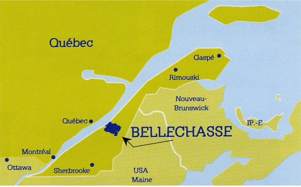 Noms de famille dans la MRC de Bellechasse