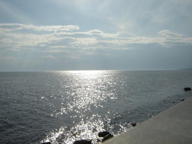 Baie des Chaleurs, à Bonventure en Gaspésie