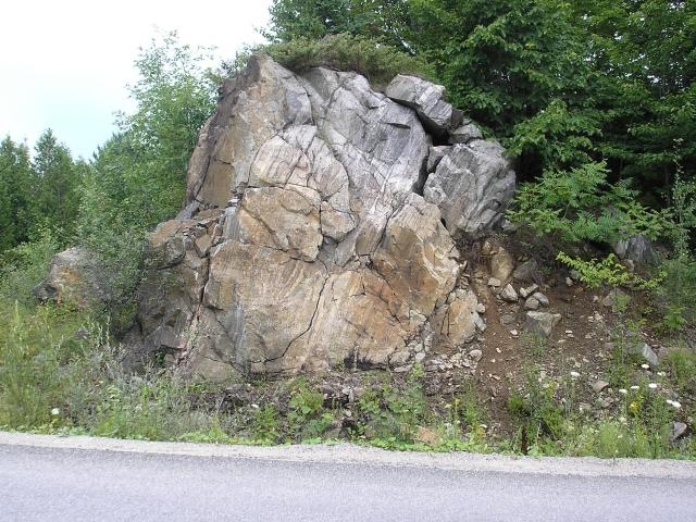 Géologie : constats à Cantley