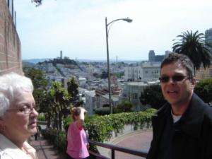 François et MJR, des hauteurs de San Francisco