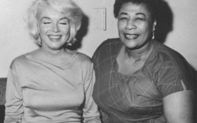 Marilyn Monroe et Ella Fitzgerald