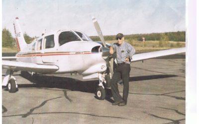 Pharmacien et… pilote : GUY DODIER, de Thetford  Mines